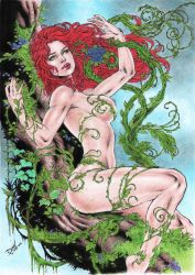 Poison Ivy by DLimaArt