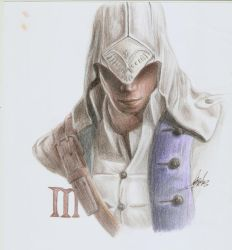 Assassin's Creed 3 - Connor by britolitos96