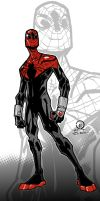 Superior Spider-man color by JoeyVazquez