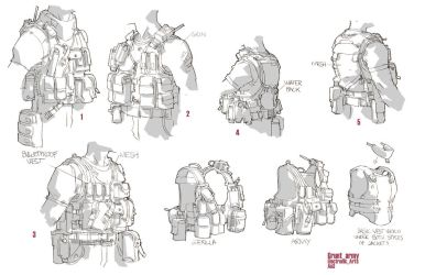 ao2 40th day: grunt vest rough by ClementSauve