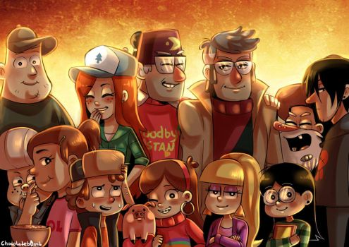 Gravity Falls - A Summer to Remember by SonicPossible00