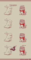 Rabbit and Crayon weekly comic - Gross by DaveRabbit