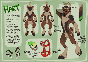 Hart Reference Sheet by Tsebresos