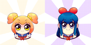 Pop Team Epic by DarkMagic-Sweetheart