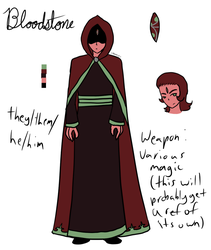 Gemsona - Bloodstone by Art-By-Ethera