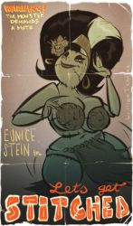 Eunice Stein - Let's get Stitched - Commission by HugoTendaz