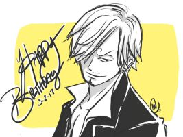 Sanji Bday by UltiMaL