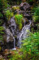 Bleakburrow Falls III by Aenea-Jones