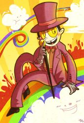 Superjail: The Warden by jiggly
