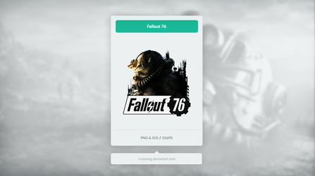 Fallout 76 - Icon by Crussong