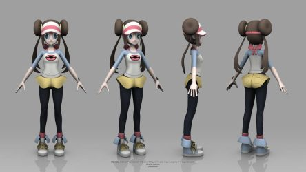 Pokemon Black and White 2 - Rosa by TheRealValce