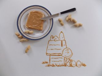 Peanuts butter by NadienSka