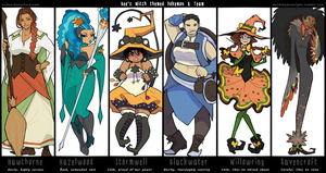 PKMN - Witches of Kalos by Beedalee-Art