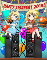 Happy Lisafest 2014! by Yet-One-More-Idiot