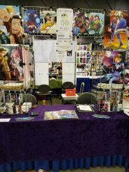 Artist Alley Table by AnimeFlux