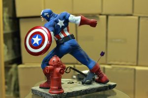 Captain America Painted 02 by mufizal