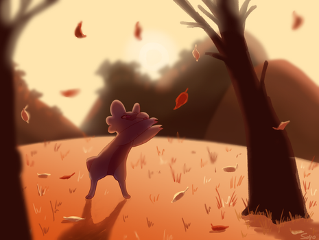 WP53: hey its autumn :) by SoyotheNerd