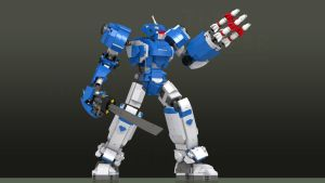 RimTech Combot (Metal Fatigue) by TheMugbearer