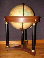 Vintage Globe of the Earth by FantasyStock