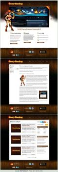 Web design: Booty Gaming Inc by SOSFactory