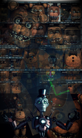 Withered Freddy V6 Almost Complete by CoolioArt