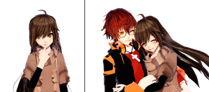 MMD Mystic Messenger MC #1 WIP by ZKArti
