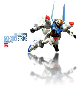 Gunpla Concept : Freedom MK.1 Strike by thesecondsai