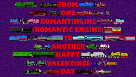 A Sodor Valentines Day by SuperJames526