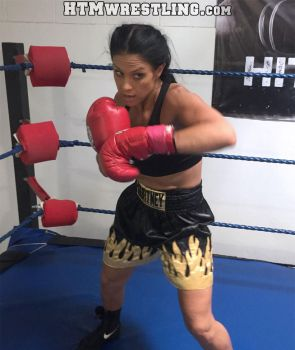 Fighter Courtney by boxingwrestling