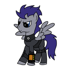 Frostwing in Fallout:Equestria (Testing Blob Tool) by Xaphriel