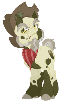 MLP OC: Pyrite Peat by TenderLumpkins