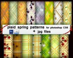 Plaid Spring Patterns by roula33