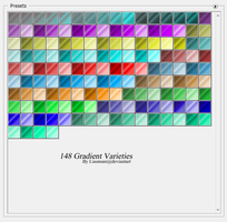 148 Gradient Varieties by Liasmani