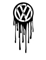 Volkswagen Logo Bleeding by greenbob1986