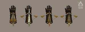 Hidden Crossbow Glove Transformation by Banzz