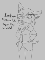 Reader Ember by W0lfmare