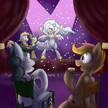 EFNW 2015 Con Skit Actor Auditions Art by EverfreeNW