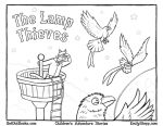 The Lamp Thieves Coloring Page by EmilyStepp