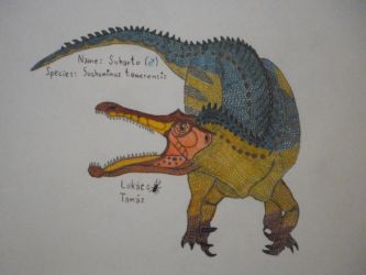 Suharto, the suchomimus by StagBeetleMaster