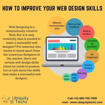 How to Improve Your Web Design Skills by ubiquitytechs