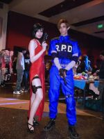 Ada Wong and Leon Scott Kennedy - Resident Evil by LolitaAmane