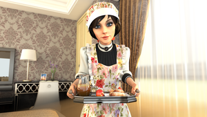 Breakfast in Bed by Pseudonym3D