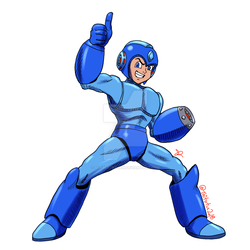 MegaMan TV version by ScarletReisen