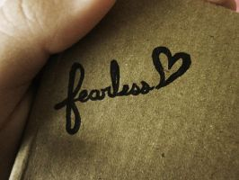 Because love is FEARLESS. by zehrabee