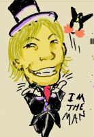 Characature of me by Bluemansonic