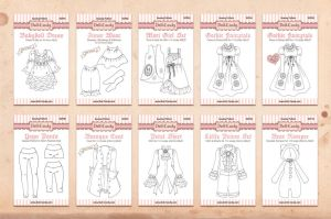 Pattern Packets design by Cospigeon