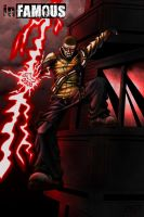inFamous Cole MacGrath - Color by Winter-City-Comics