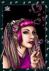 Punk Prom Queen by ElectronicRainbow