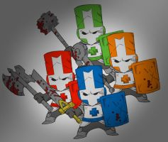 Castle Crashers WIP by AIBryce