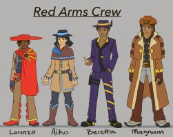 The Red Arms Crew by DTrain2695